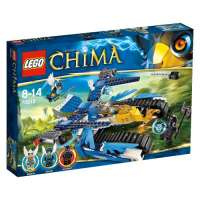 Lego Legends Of Chima – Playthèmes – 70013 – Jeu de Construction – L'ultra Striker d'equila