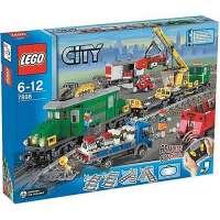 Lego – City – jeu de construction –  Le train de marchandises V29