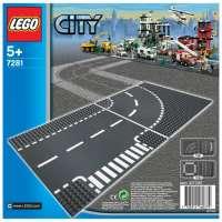 Lego – City – jeu de construction –  Virage et croisement