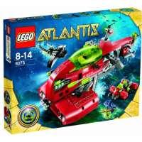 Lego – 8075 – Jeu de Construction – Lego Atlantis – Le Transporteur Neptune