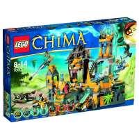 Lego Legends of Chima – Playthèmes – 70010 – Jeu de Construction – Le Temple de la Tribu Lion