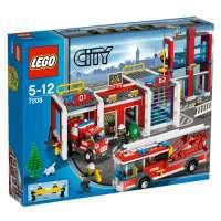 Lego – 7208 – Jeu de Construction – Lego City – La Caserne des Pompiers