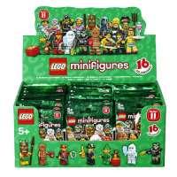 Lego Minifigures – 6029152 – Jeu de Construction – Boîte de 60 Sachets – Série 11
